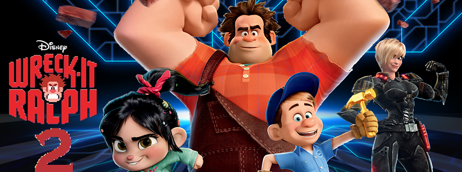 Wreck it Ralph 2 slide