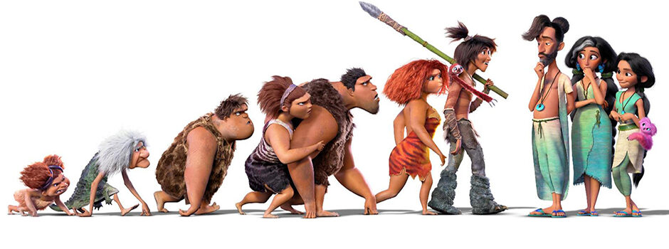 MOVIE 'THE CROODS: A NEW AGE'